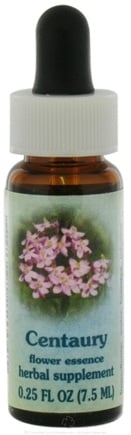 DROPPED: Flower Essence Services - Healing Herbs Dropper Centaury - 0.25 oz. CLEARANCE PRICED