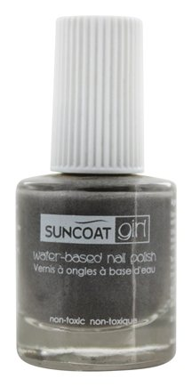 DROPPED: Suncoat - Girl Water-Based Nail Polish Starlight Silver - 0.27 oz.