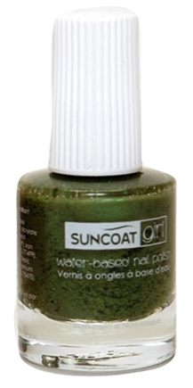 DROPPED: Suncoat - Girl Water-Based Nail Polish Gorgeous Green - 8 ml. CLEARANCE PRICED