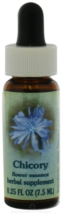 DROPPED: Flower Essence Services - Healing Herbs Dropper Chicory - 0.25 oz. CLEARANCE PRICED