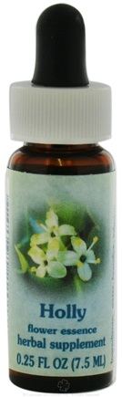 DROPPED: Flower Essence Services - Healing Herbs Dropper Holly - 0.25 oz. CLEARANCE PRICED