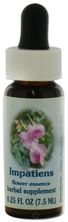 DROPPED: Flower Essence Services - Healing Herbs Dropper Impatiens - 0.25 oz. CLEARANCE PRICED