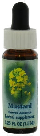 DROPPED: Flower Essence Services - Healing Herbs Dropper Mustard - 0.25 oz. CLEARANCE PRICED