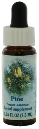DROPPED: Flower Essence Services - Healing Herbs Dropper Pine - 0.25 oz. CLEARANCE PRICED