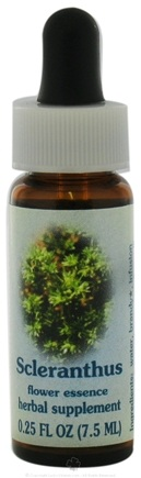 DROPPED: Flower Essence Services - Healing Herbs Dropper Scleranthus - 0.25 oz. CLEARANCE PRICED