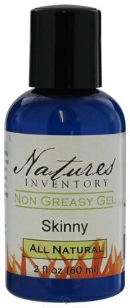 DROPPED: Nature's Inventory - Non Greasy Gel All Natural Skinny - 2 oz. CLEARANCED PRICED