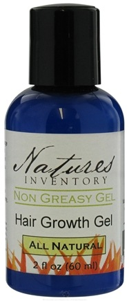 DROPPED: Nature's Inventory - Non Greasy Gel All Natural Hair Growth Gel - 2 oz. UNPUBLISHED