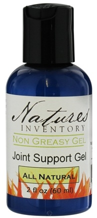 DROPPED: Nature's Inventory - Non Greasy Gel All Natural Joint Support Gel - 2 oz. CLEARANCE PRICED
