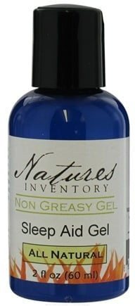 DROPPED: Nature's Inventory - Non Greasy Gel All Natural Sleep Aid Gel - 2 oz. CLEARANCE PRICED