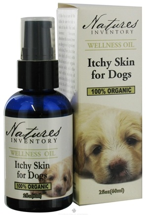 DROPPED: Nature's Inventory - Wellness Oil 100% Organic Itchy Skin For Dogs - 2 oz. CLEARANCE PRICED