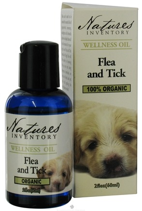 Nature's Inventory - Wellness Oil 100% Organic Flea and Tick Formula For Dogs - 2 oz.