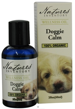 DROPPED: Nature's Inventory - Wellness Oil 100% Organic Doggie Calm - 2 oz. CLEARANCE PRICED