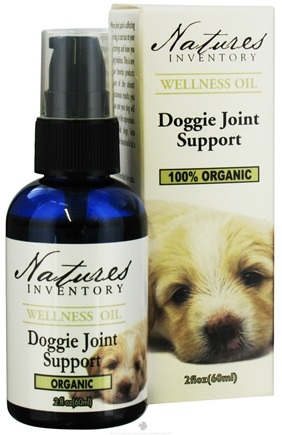 DROPPED: Nature's Inventory - Wellness Oil 100% Organic Doggie Joint Support - 2 oz. CLEARANCE PRICED