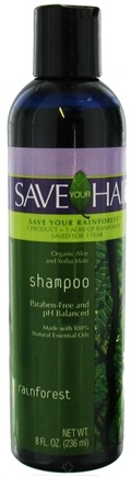 DROPPED: Save Your World - Save Your Hair Shampoo Rainforest - 8 oz.