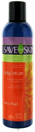 DROPPED: Save Your World - Save Your Skin Body Lotion Oasis Fruit - 8 oz. CLEARANCE PRICED