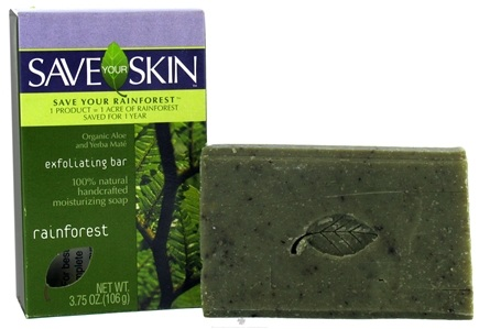 DROPPED: Save Your World - Save Your Skin Exfoliating Bar Rainforest - 3.75 oz.