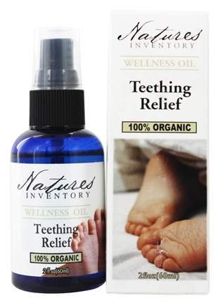 DROPPED: Nature's Inventory - Wellness Oil 100% Organic Teething Relief - 2 oz.