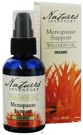 DROPPED: Nature's Inventory - Wellness Oil Organic Menopause Support - 2 oz. CLEARANCED PRICED