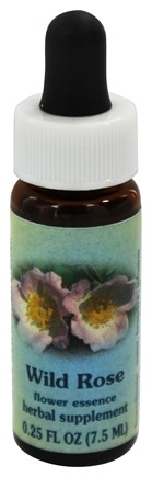 DROPPED: Flower Essence Services - Healing Herbs Dropper Wild Rose - 0.25 oz.