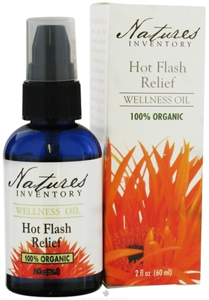 DROPPED: Nature's Inventory - Wellness Oil 100% Organic Hot Flash Relief - 2 oz. CLEARANCE PRICED