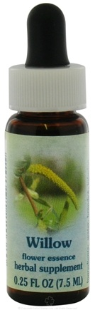 DROPPED: Flower Essence Services - Healing Herbs Dropper Willow - 0.25 oz. CLEARANCE PRICED