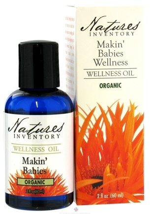 DROPPED: Nature's Inventory - Wellness Oil Organic Makin' Babies Wellness - 2 oz. CLEARANCE PRICED