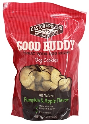 DROPPED: Castor & Pollux - Good Buddy Dog Cookies Pumpkin & Apple Flavor - 16 oz.