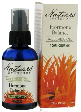 Nature's Inventory - Wellness Oil 100% Organic Hormone Balance - 2 oz.