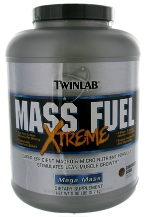 DROPPED: Twinlab - Mass Fuel Xtreme Powder Chocolate Surge - 5.95 oz.