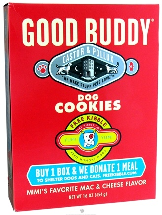 DROPPED: Castor & Pollux - Good Buddy Dog Cookies Mimi's Favorite Mac & Cheese Flavor - 16 oz. CLEARANCE PRICED