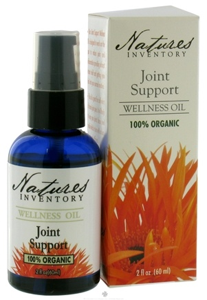 DROPPED: Nature's Inventory - Wellness Oil 100% Organic Joint Support - 2 oz. CLEARANCE PRICED