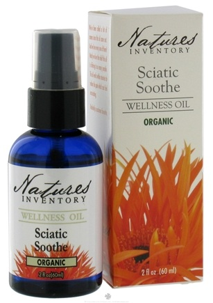 DROPPED: Nature's Inventory - Wellness Oil Organic Sciatic Soothe - 2 oz. CLEARANCE PRICED