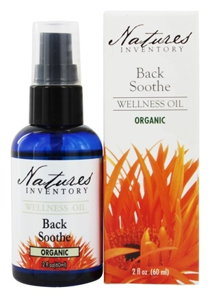 DROPPED: Nature's Inventory - Wellness Oil Organic Back Soothe - 2 oz.