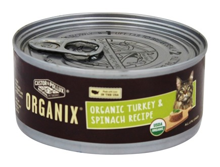 Castor & Pollux - Organix Cat Food Organic Turkey & Spinach Formula - 5.5 oz.