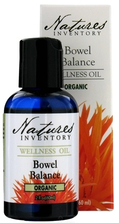 DROPPED: Nature's Inventory - Wellness Oil Organic Bowel Balance - 2 oz. CLEARANCE PRICED
