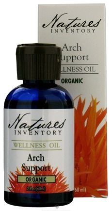DROPPED: Nature's Inventory - Wellness Oil Organic Arch Support - 2 oz. CLEARANCE PRICED