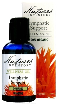 DROPPED: Nature's Inventory - Wellness Oil 100% Organic Lymphatic Support - 2 oz. CLEARANCE PRICED