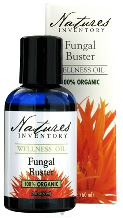 DROPPED: Nature's Inventory - Wellness Oil 100% Organic Fungal Buster - 2 oz. CLEARANCE PRICED