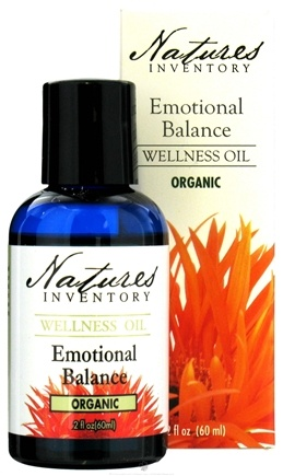 DROPPED: Nature's Inventory - Wellness Oil Organic Emotional Balance - 2 oz. CLEARANCE PRICED