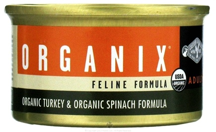 DROPPED: Castor & Pollux - Organix Cat Food Organic Turkey & Spinach Formula - 3 oz.