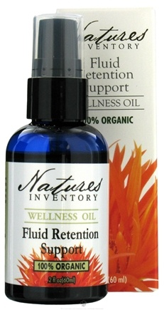 DROPPED: Nature's Inventory - Wellness Oil 100% Organic Fluid Retention Support - 2 oz. CLEARANCE PRICED