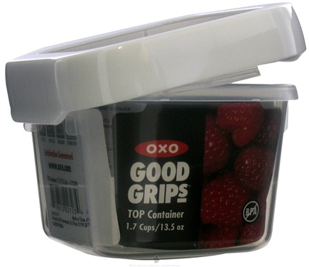 DROPPED: OXO - Good Grips TOP Container Small Square - 13.5 oz. CLEARANCE PRICED