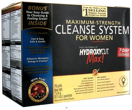 DROPPED: Muscletech Products - Hydroxycut Cleanse System for Women - CLEARANCE PRICED