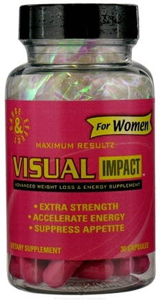 DROPPED: Cause & Effect - Visual Impact Advanced Weight Loss & Energy For Women - 30 Capsules CLEARANCE PRICED