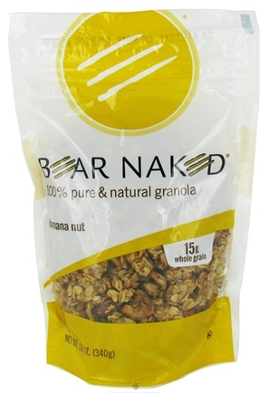 DROPPED: Bear Naked - Granola 100% Pure & Natural Banana Nut - 12 oz. CLEARANCED PRICED