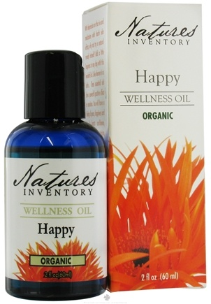 DROPPED: Nature's Inventory - Wellness Oil Organic Happy - 2 oz. CLEARANCE PRICED