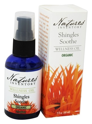 DROPPED: Nature's Inventory - Wellness Oil Organic Shingles Soothe - 2 oz.