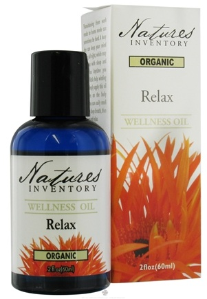 DROPPED: Nature's Inventory - Wellness Oil Organic Relax - 2 oz. CLEARANCE PRICED