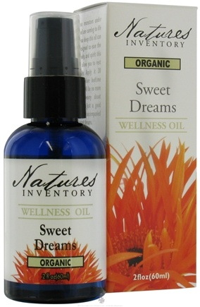 DROPPED: Nature's Inventory - Wellness Oil Organic Sweet Dreams - 2 oz. CLEARANCE PRICED