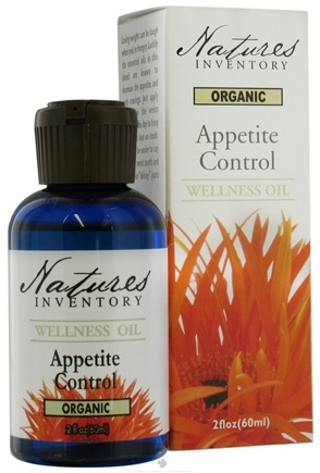 DROPPED: Nature's Inventory - Wellness Oil Organic Appetite Control - 2 oz.